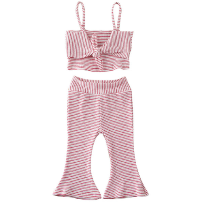 PRE ORDER Stripped Cutie Baby Girl Outfit - Little Adora and Company