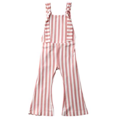 PRE ORDER Sassy Stripes Baby Girl Jumpsuit - Little Adora and Company