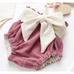 PRE ORDER Bowtiful Baby Girl Bummies - Little Adora and Company