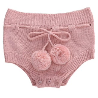 PRE ORDER Knitted Cutie Bummies - Little Adora and Company