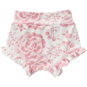 PRE ORDER Rosey Ruffles Baby Girl Shorts - Little Adora and Company
