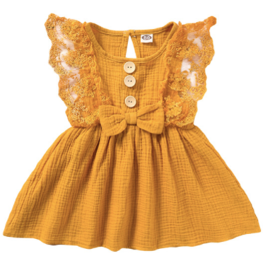 PRE ORDER Miss Ava Baby Girl Dress - Little Adora and Company