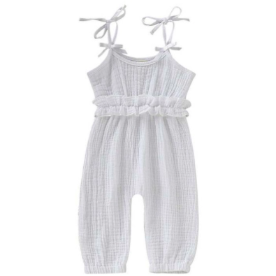 PRE ORDER Evelyn Baby Girl Jumpsuit - Little Adora and Company