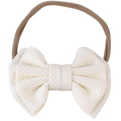 Bow up Baby Girl Headband - Little Adora and Company