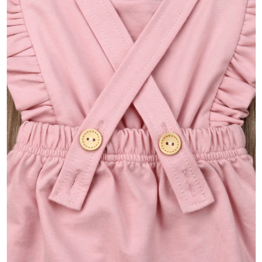 PRE ORDER Pink Cutie Baby Girl Jumpsuit - Little Adora and Company