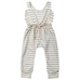 PRE ORDER Stripped Cutie Baby Girl Jumpsuit - Little Adora and Company