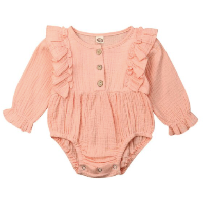 PRE ORDER Anna Vintage Baby Girl Romper - Little Adora and Company