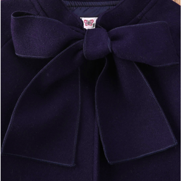 PRE ORDER Miss Navy Girls Jacket - Little Adora and Company