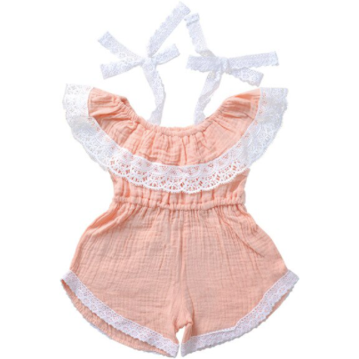 PRE ORDER Sarah Baby Girl Romper - Little Adora and Company