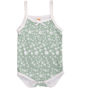 PRE ORDER Forever Flowers Baby Girl Bodysuit - Little Adora and Company