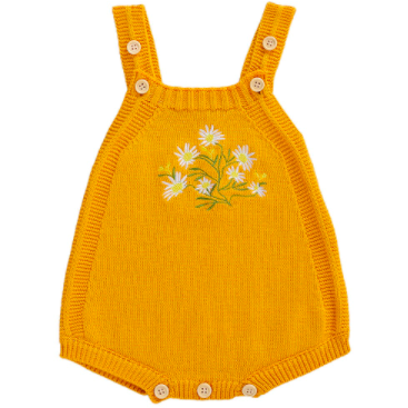 PRE ORDER Miss Daisy Knitted Romper