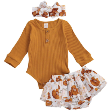PRE ORDER Poppy Petals Long Sleeve outfit
