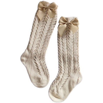 PRE ORDER Bow to Comfy Baby Girl Socks