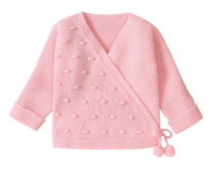 PRE ORDER Little Pom Baby Girl Sweater