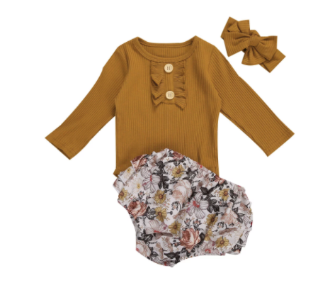 PRE ORDER Dahalia Baby Girl Outfit