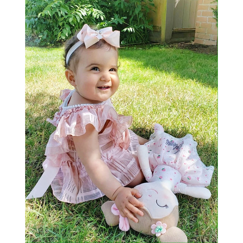 Isadora Baby Girl  Romper - Little Adora and Company