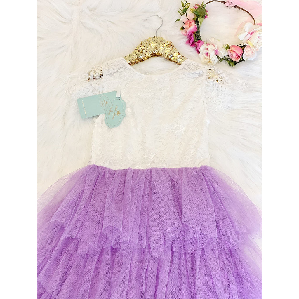Felicity Lace Girls Dress - Little Adora and Company