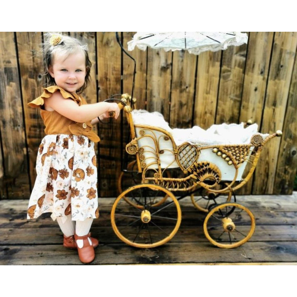 PRE ORDER Poppy Petals Baby Girl Dress - Little Adora and Company
