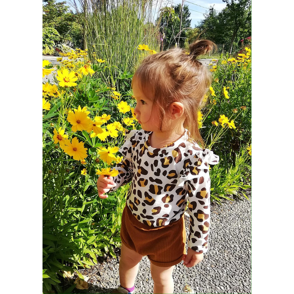PREORDER Little Leopard Baby Short Set - Little Adora and Company