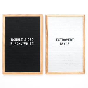 Extrovert - Double Sided - Black & White