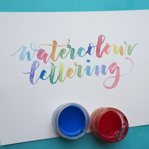 Watercolour Lettering, Brisbane, 5 June