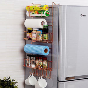 Refrigerator Broadside Shelf Rack
