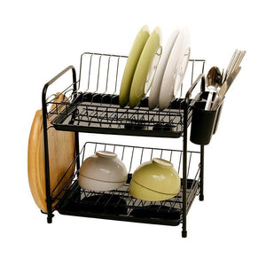 2 Layers Dish Drying Rack