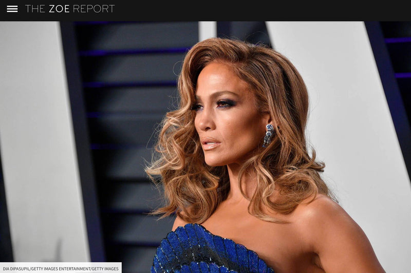 Press Feature: Jennifer Lopez in AMAVII on The Zoe Report-AMAVII Eyewear