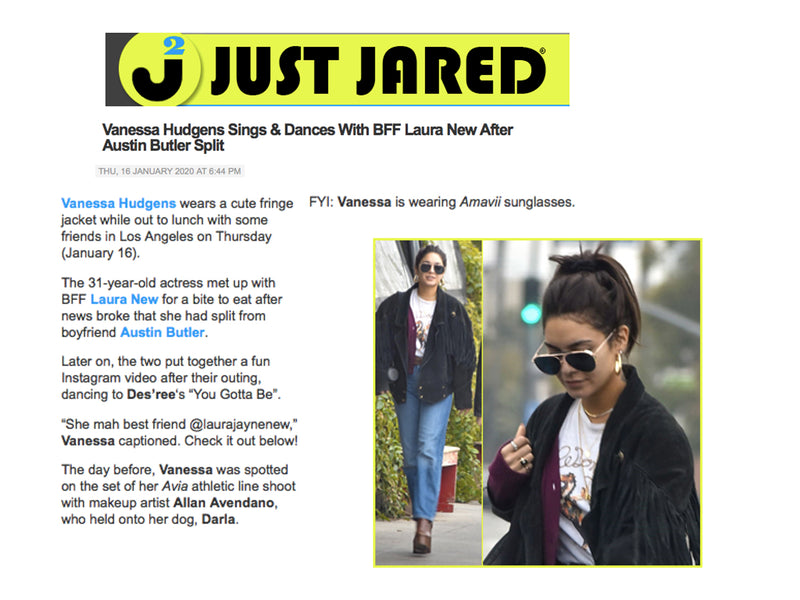 PHILIP X VANESSA HUDGENS X JUST JARED