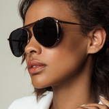 PHILIP - 18K Gold - Polarized Lens-Sunglasses-AMAVII Eyewear