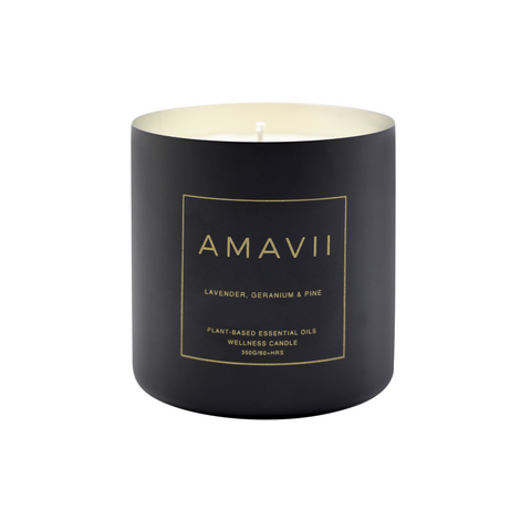 Wellness Candle - Matte Black
