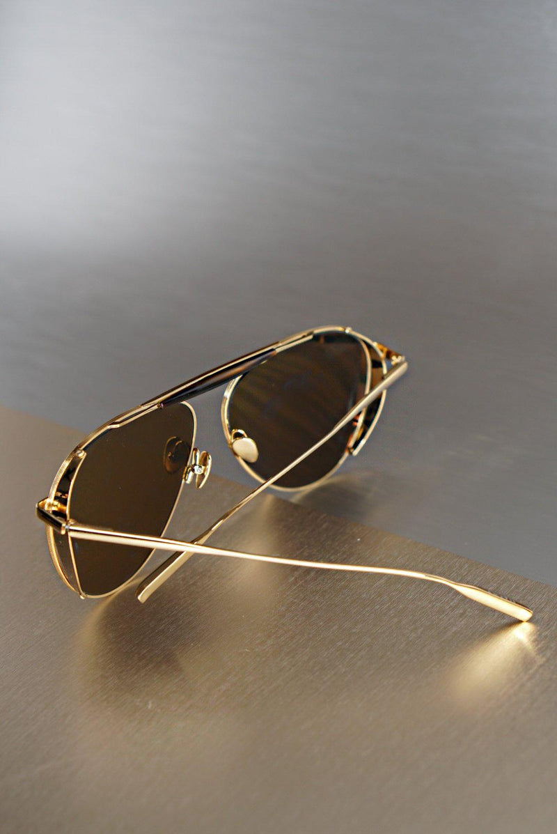 PHILIP - 18K Gold - Polarized Lens