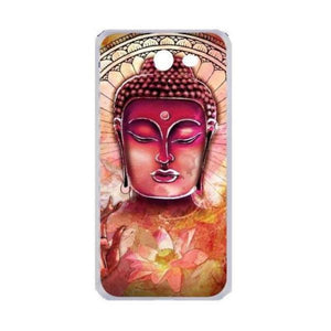 Coque Galaxy Bouddha rouge
