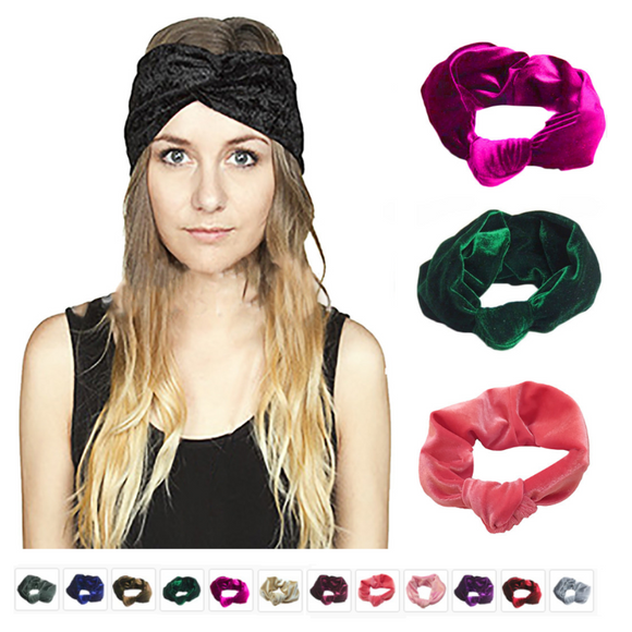 Bandeau Torsion élastique Wrap turban