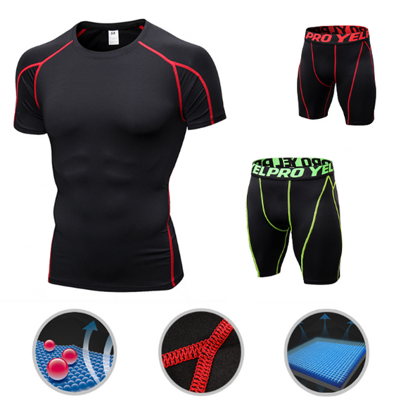 Ensemble Short + T-shirt Sport en salle