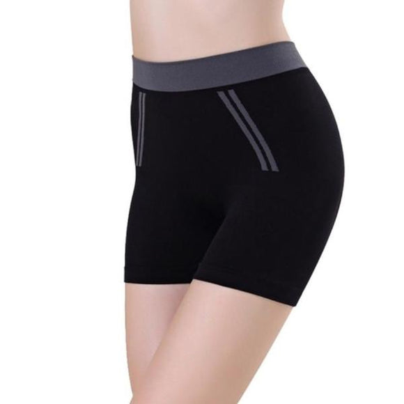 Short noir de remise en forme Yoga Fitness Pilates
