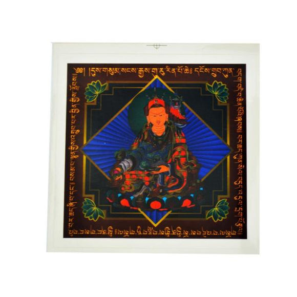 Stickers Guru Rinpoche de protection