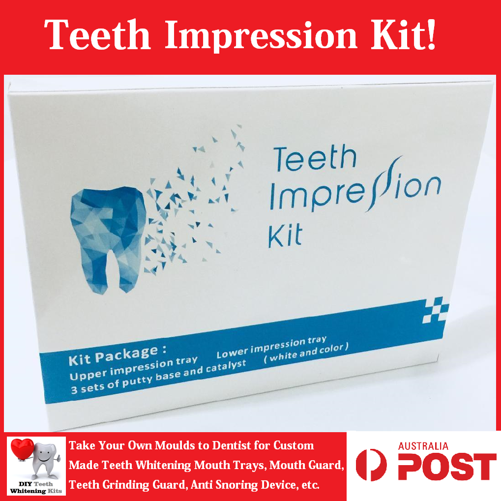 DIY Teeth Impression Kit | Take Your Moulds to Dentist for Custom Fit