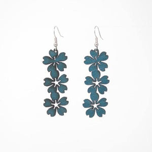 Truquoise Floral Earrings
