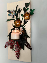 Wine and Flower wall sconce