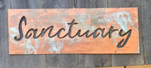 Copper and patina Custom quotes and metal signs inspired by Forged From The Ashes Metalworks