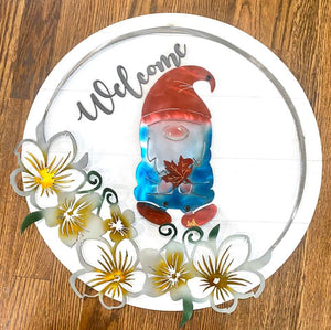 Fully Interchangeable Welcome Gnome