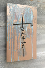 Bronze and copper metal artwork with patina, inspirational metal artwork.  Christian art by Forged From The Ashes.
