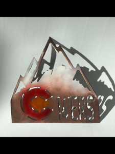 Colorado 14er ornament