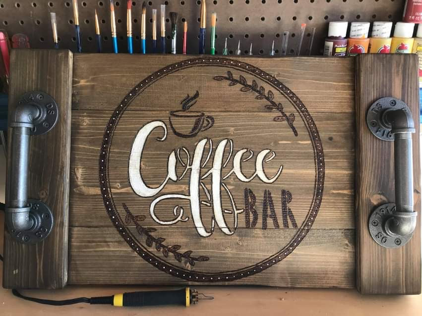 The Coffee Bar Serving Tray