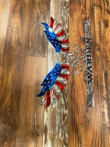 Personalized Patriotic Eagle