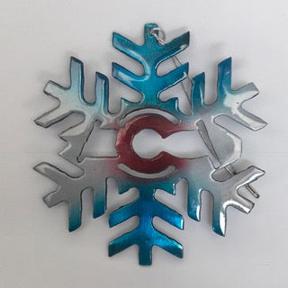 Colorado Snowflake Ornament 2