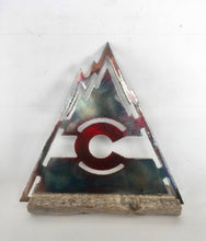 Colorado Vintage Flag Triangle Desk piece
