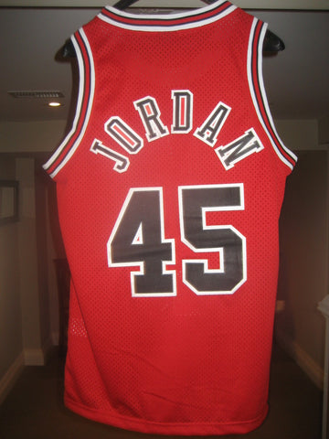 best website f34e1 785d3 Jersey Central — Swingman 1984 Flight 8403 Red