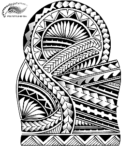Polynesian Tattoo Designs (Digital)